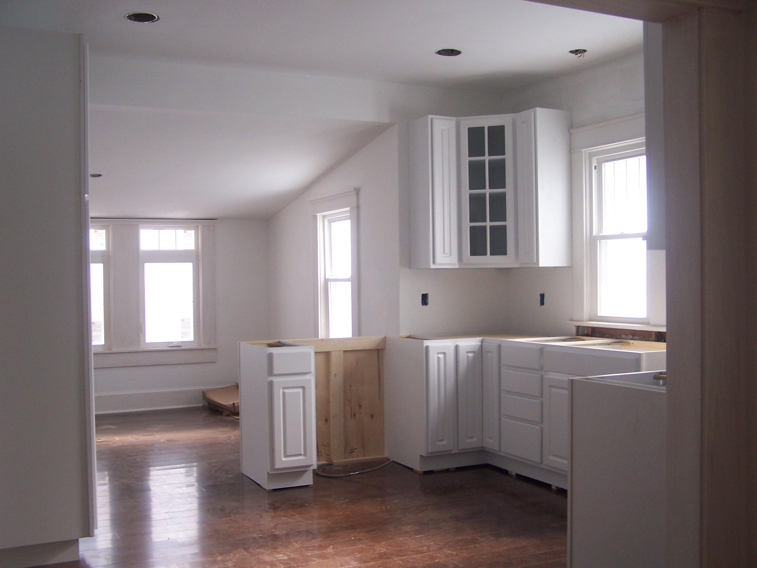 bungalow 404 kitchen progress