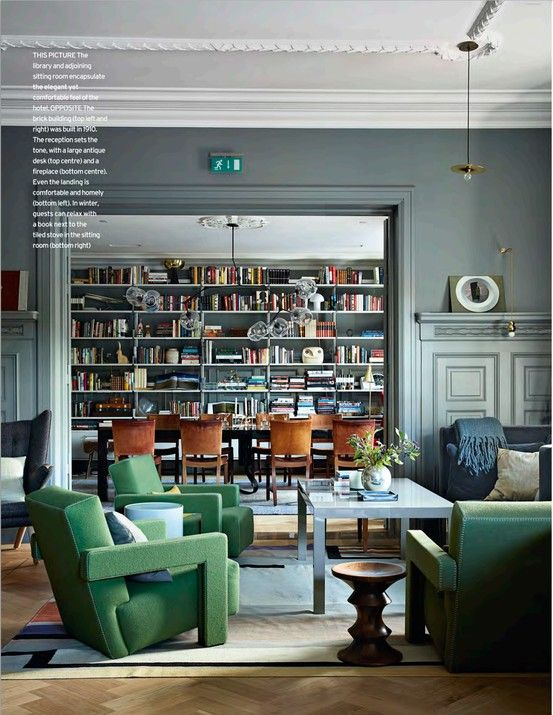 Dining Room or Library? | The Estate of Things