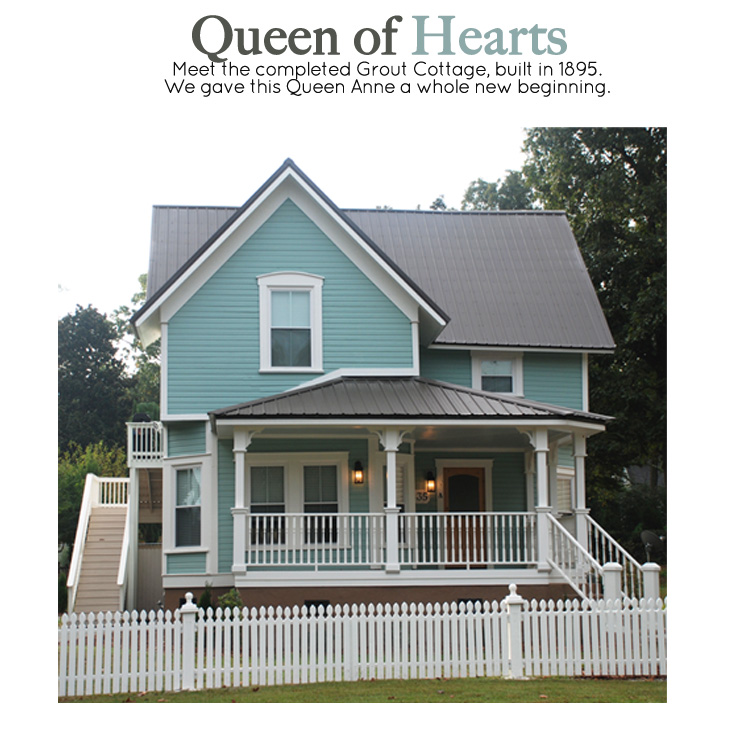 Grout Queen of Hearts top