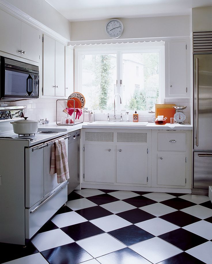 White appliances on a comeback the estate of things for 50s kitchen ideas