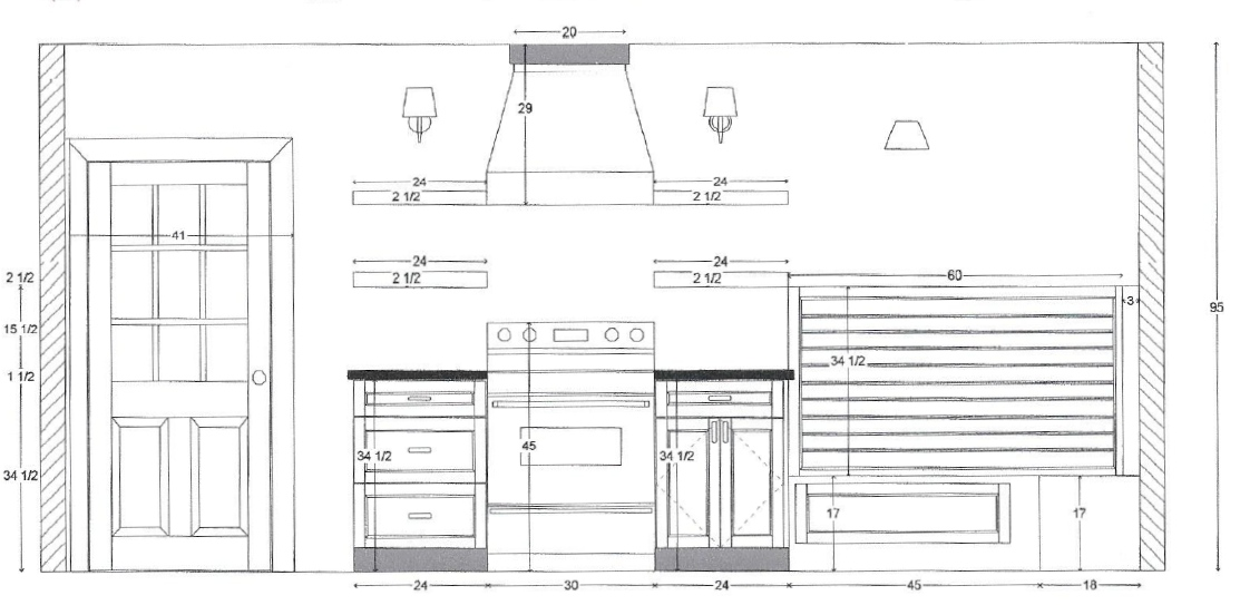 Bennett Kitchen: Plan & Progress