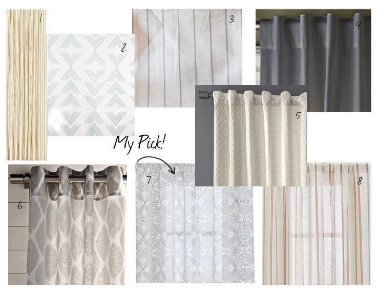 Shower Curtains crate and barrel shower curtains : Dear TEOT: Affordable Bedroom Curtains | The Estate of Things