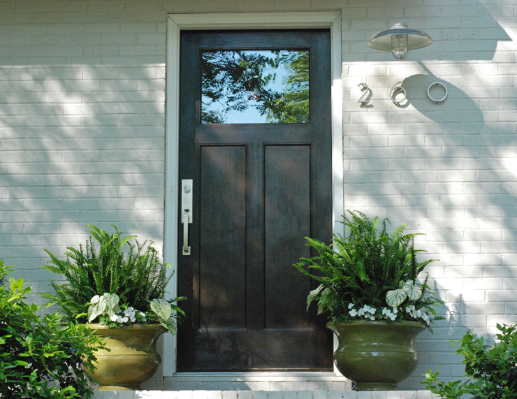 splitlevel front door