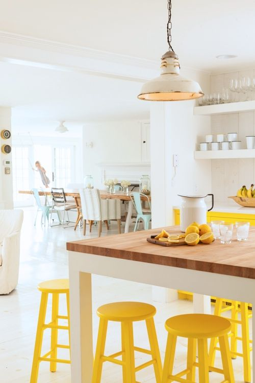yellow stools2