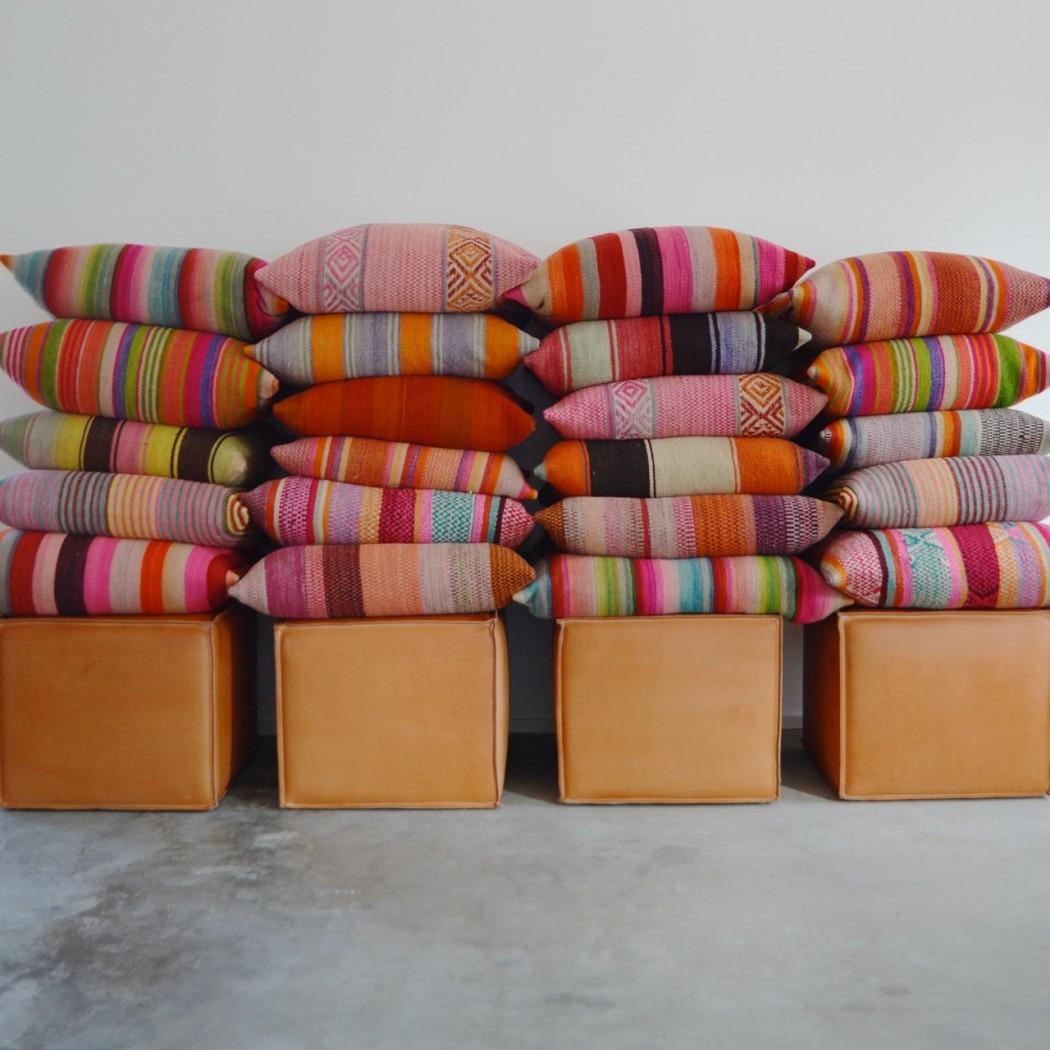 Frazada pillows by Garza Marfa