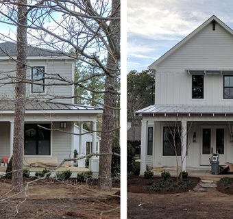 Butler Constructs takes on two traditional styles in Downtown Southern Pines
