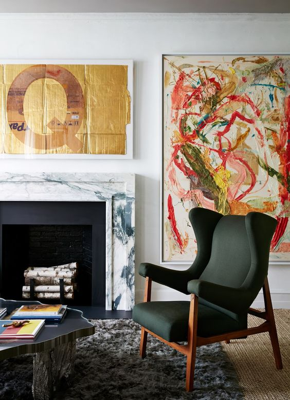 Robert Stilin has the how-to when it comes to decorating with artwork.
